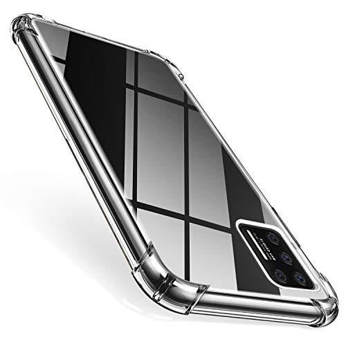 AROYI Samsung Galaxy A51 Hülle, Transparent Silikon TPU Soft Premium Hülle Anti-Kratzer Schock-Absorption Durchsichtig Schutzhülle für Samsung Galaxy A51