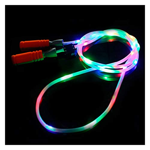 GlowCity LED Jump Ropes (Rainbow)