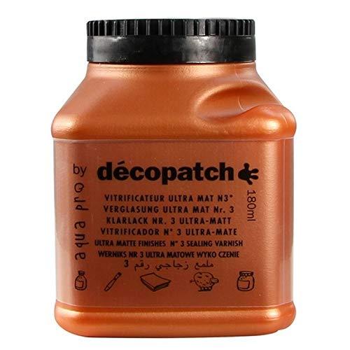 Décoptach Aquapro nagellak, 180 ml, matte afwerking