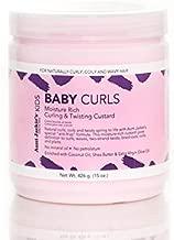 Aunt Jackies Baby Girl Curls Curling and Twisting Custard 15oz (CH166815)