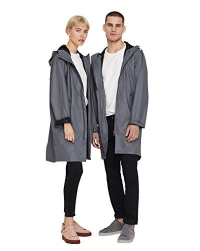 Tretorn Wings Air Rain Jacket Regenmantel - Steel Grey (M, Steel Grey)