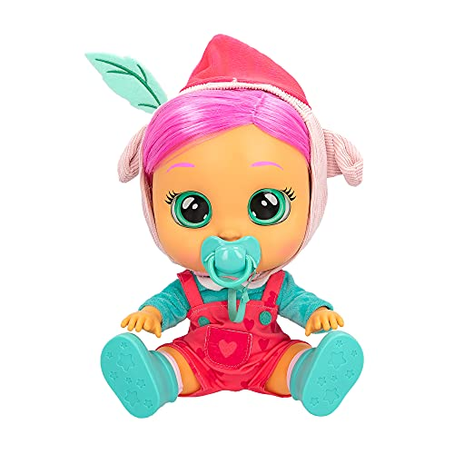 BEBÉS LLORONES Storyland Piggy - Muñeca interactiva, Inspirada en Cuentos Famosos, Que llora, con Pelo para peinar, Ropa para Vestir y Accesorios para Jugar; Juguete para niños de 2 años y más