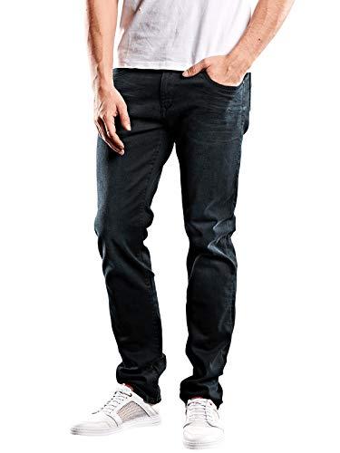 emilio adani Herren Jeans Classic Regular, 28246, Blau in Größe 34/34