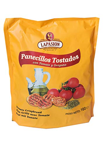 LAPASION - Panecillos de tomate y orégano | 160g