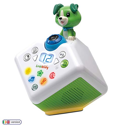 LeapFrog Leapstory (Green) Listen and Visualise Musical Baby Toy, Toddler Toy with Sounds, Shapes, Poems & Stories, Interactive Educational Toy for Children 3, 4, 5, 6+ Year Olds Boys & Girls