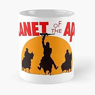 Planet Apes Vintage Charlton Heston - Morning Coffee Mug Ceramic Novelty Holiday 11 Oz