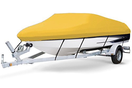 Read About 7 oz Solution Dyed Polyester Yellow, Styled to FIT Boat Cover for BAYLINER 2459 Rendezvou...