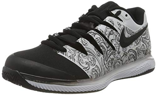 Nike Damen Air Zoom Vapor X Clay Tennisschuhe, Weiß (White/Black 000), 39 EU