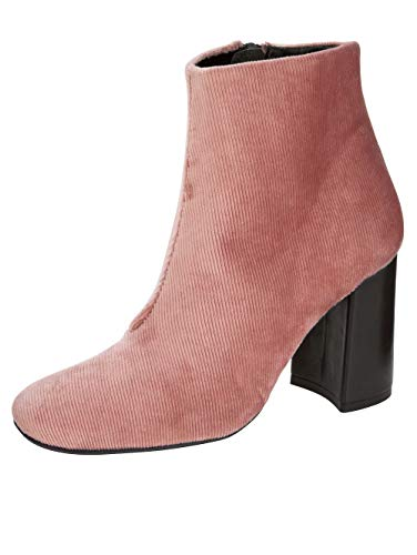 Wenz Stiefelette in modischer Cord-Optik Rosé