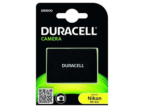 Duracell DR9900 Batteria per Nikon EN-EL9, 7.4 V, 1100mAh, Nero