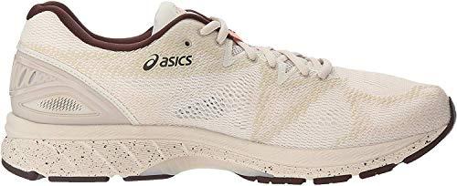 ASICS Zapatillas de correr GEL-Nimbus 20 para hombre, beige (abedul/café/floración (blossom)), 44 EU