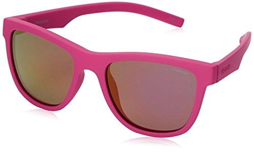 Polaroid PLD 8018/S AI CYQ Gafas de sol, Rosa (Dark Pink/Grey Pink Grey Speckled Pz), 47 Unisex Niños