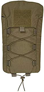 Chase Tactical Large Hydration Pouch – Lightweight – for Single 3 Liter (100 oz) Bladder – Attaches with Back MOLLE – for Military, Law Enforcement, Medical, Combat Training – Unisex