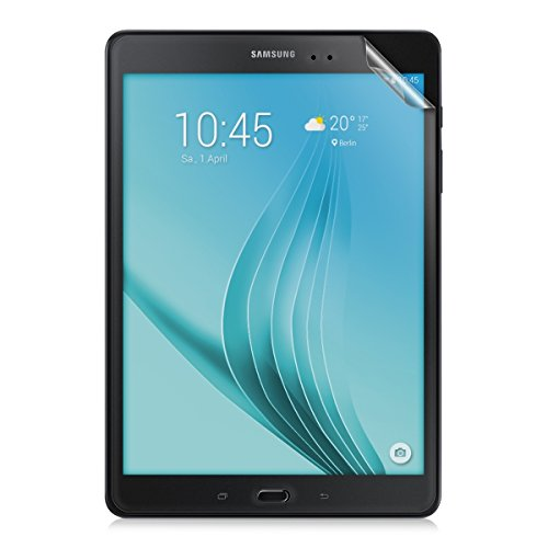 kwmobile Folie kompatibel mit Samsung Galaxy Tab A 9.7 T550N / T555N - Full Screen Tablet Schutzfolie entspiegelt