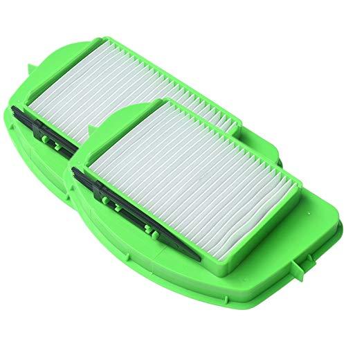 Senmubery 2 Piezas Filtro HEPA para Rowenta ZR005501 R05396 Piezas de la Aspiradora Filtro de Limpieza Filtro de Polvo