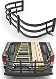 TKMAUTO Truck Bed Extender Black Tailgate Extention for F-Series & Silverado& Full Size Trucks