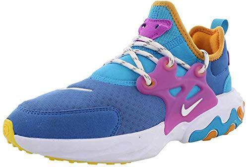 Nike Kid's React Presto (GS), Montaña Azul/Blanco, color Azul, talla 37.5 EU