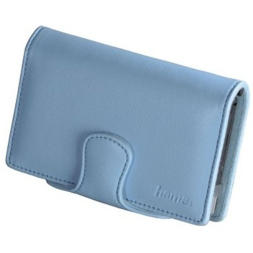 Hama Leather Case for Nintendo DSi Blau - Gerätekoffer/-Taschen (Leder, Blau, Nintendo DSi)