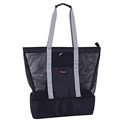 Amazon - Save 60%: Holly LifePro Mesh Beach Bag Toy Tote Bag Market Grocery & Picnic Tote wit…