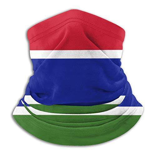 Bandanas de la bandera de Gambia Magic diadema mscara para el polvo, al aire libre, festivales, deportes