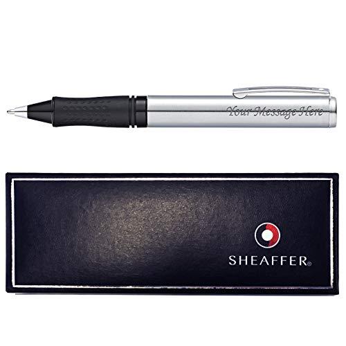 Bolígrafo de Sheaffer con grabado personalizado + caja de regalo (acero)