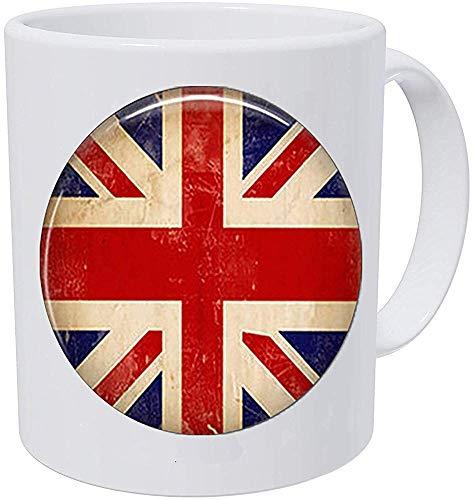 Union Jack Flag Colgante Vintage Moda Mujer Hombre Joyería El Reino Unido...