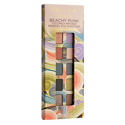 Pacifica Beauty 10 Well Eye Shadow, Beachy Punk, 0.2 Ounce