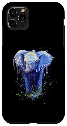 iPhone 11 Pro Max Elephant Artwork - Big Mammal Elephant Artwork Gift Case