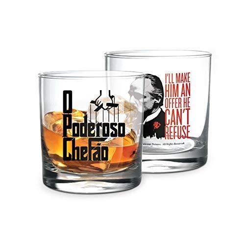 Copo whisky Poderoso Chefão