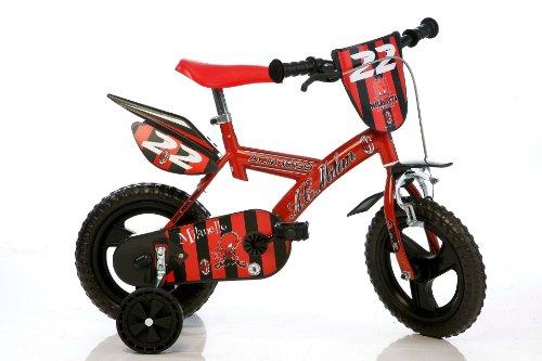 Bicyfoot DB163GLN-MI - Bicicleta Infantil BMX, 6 a 9 años, Color Negro