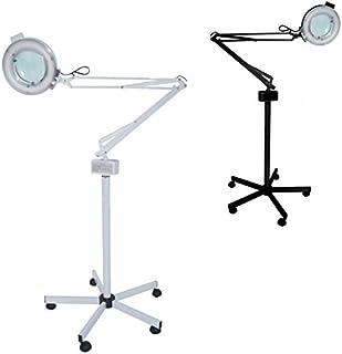 Polironeshop Lámpara con lente de 5 dioptrías más soporte ajustable mueble estudio masaje esteticista estética tatuaje