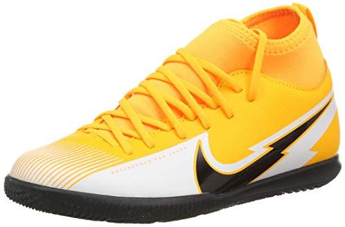 Nike JR Superfly 7 Club IC, Scarpe da Calcio Bambino, Laser Orange/Black-White-Laser Orange, 36 EU