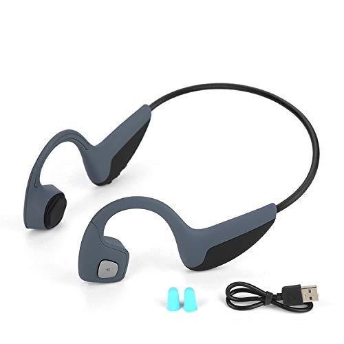 骨伝導ヘッドフォン、最新のZ10オープンイヤーヘッドフォンBluetooth 5.0ワイヤレススポーツヘッドセット防水性、防湿性、マイク付きHiFiステレオハンズフリーヘッドセット、イヤホン