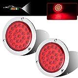 LIMICAR 4' Round LED Trailer Tail Light 2PCS...