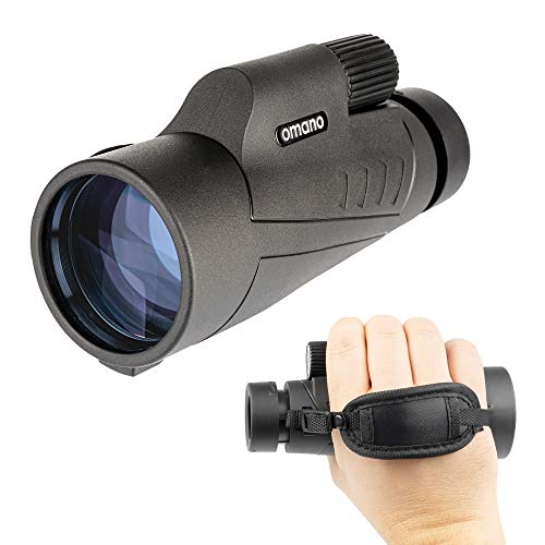 Bird Watching Monocular for Adults – Smithsonian Monocular Set w/ 12x50 Monocular for Bird Watching, Hiking, Travel – Waterproof Monocular– Bird-Watching Guide Included