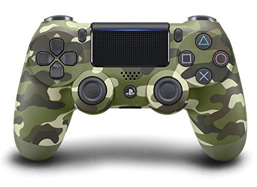 PlayStation 4 - Dualshock 4 Controller Wireless V2, Verde (Green Camo)