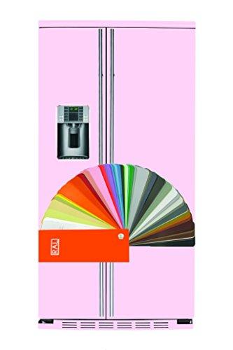 General Electric RCE 24 VFG 8RAL - Amerikanischer Kühlschrank / Kühlschrank side by side / Kühlschrank in Individuelle Farbauswahl(RAL) - Freistehender Kühlschrank - Energieklasse A+ - 2 Jahre Garantie