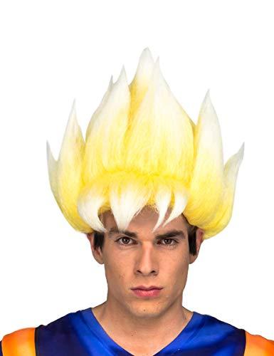 My Other Me Me- Saiyan Goku Dragon Ball Perücke, mehrfarbig (230124)