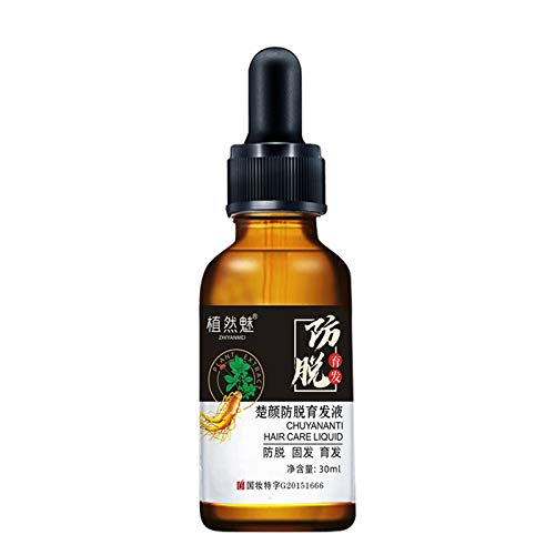 Haarserum Essenz Pflanze wu Ölkontrolle Anti-Haarausfall Serum Essenz Haarwuchs Serum Essenz Öl Regro 7X Rapi d Wachstum Haarbehandlung 30ml