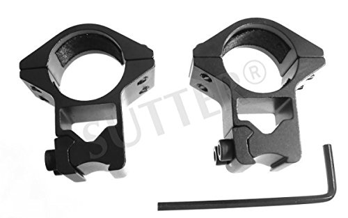 Montage Ringe d=25,4 h=50 Stark - Montageringe Montageschiene für Zielfernrohr RedDot und Zielvisier