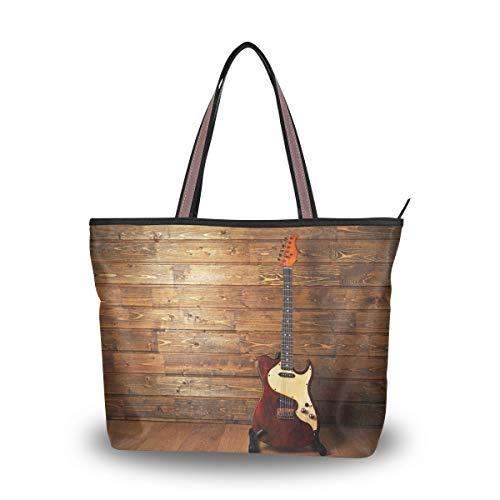 Ahomy bolsa de hombro para guitarra eléctrica en bolsa de mano de...