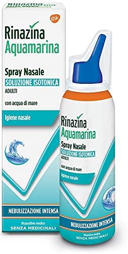 Rinazina Aquamarina Isotonica Spray Nebulizzazione Intensa, Multicolore, 100 Millilitri
