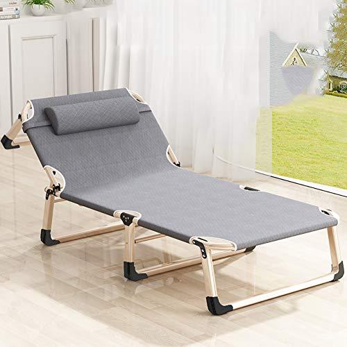 Klappbett, 193 x 68 x 30 cm, Tragfähigkeit 150 kg, Lehnstuhl/Relaxer/Wellness Stuhl, Klappbett, Sonnenliege, Sonnenliege, Reclining Sun Chair
