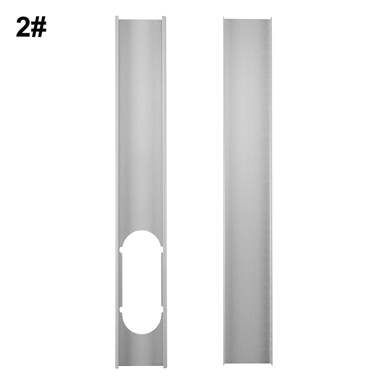 LinSHdi426 2Pcs 1.3M Window Slide Kit Plate/6inch Window Adapter for Portable Air Conditioner2Pcs Window Slide Kit Plate/6inch Window Adapter for Portable Air Conditioner 2#