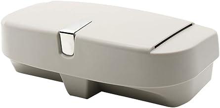 Vosarea Suporte organizador de óculos de sol destacável para caixa de carro (cinza)