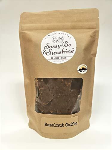 Hazelnut Coffee Peanut Brittle