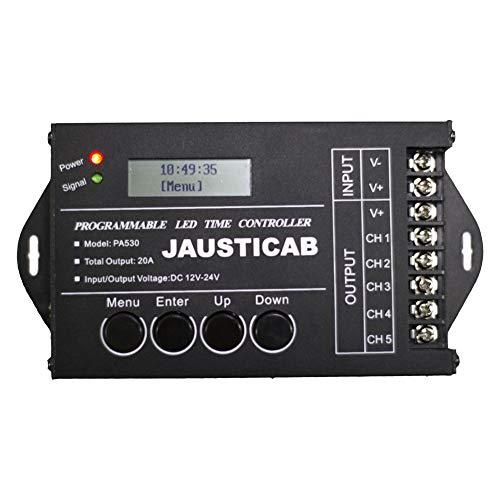 Jausticab Amanecer - ANOCHECER Listo para CONECTAR. con 30 programas con Diferentes horarios para Realizar la función de Amanecer y anochecer en época de cría.
