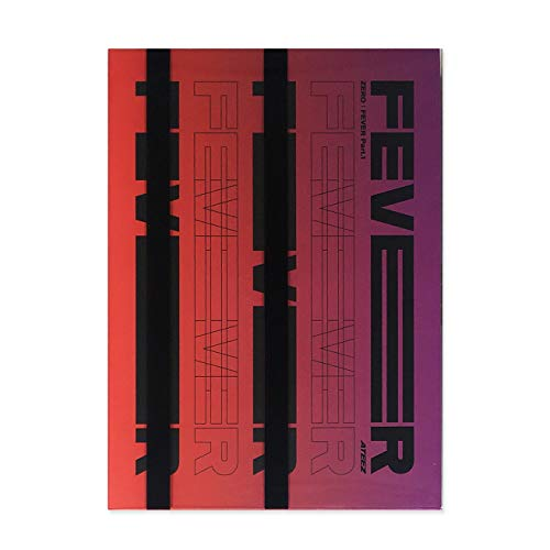 ATEEZ 5Th Mini Album - ZERO : FEVER PART.1 [ DIARY ver. ] CD + Photo Booklet + Diary...
