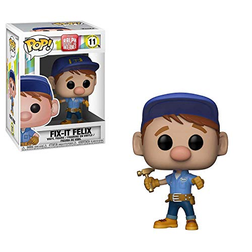 Funko Pop!: Figura Disney Wreck-It Ralph 2: Pop 6 Fix-It Felix, Multicolor, Talla Única