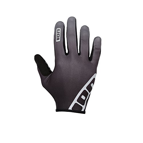 Ion Dude MX DH FR Fahrrad Handschuhe lang schwarz/grau 2017: Größe: XS